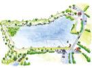Illustration agence de communication LPST pour Terres de Montaigu